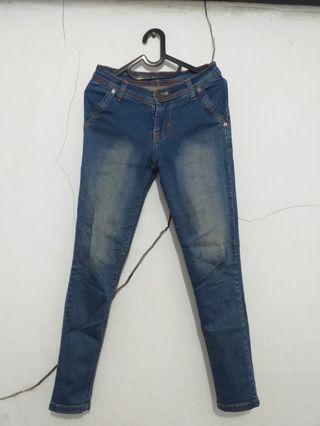 "#mauthr Celana Jeans ""Chanel"""