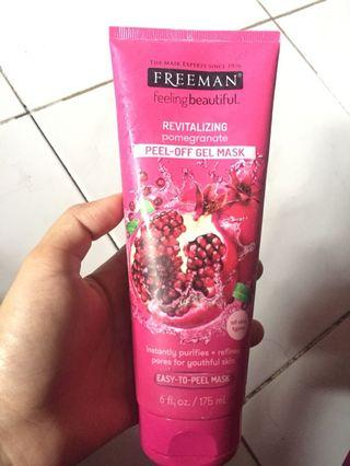 freeman peel off gel mask condition 80% - revitalizing dan brightening