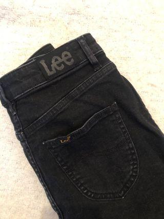 Lee Black Denim Skirt
