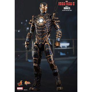 "🚚 Hot Toys Iron Man 3 Skeleton Suit Mark XLI ""Bones"""