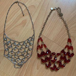 Formal necklaces