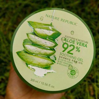 ORIGINAL & NEW! Nature Republic Aloe Vera 92%