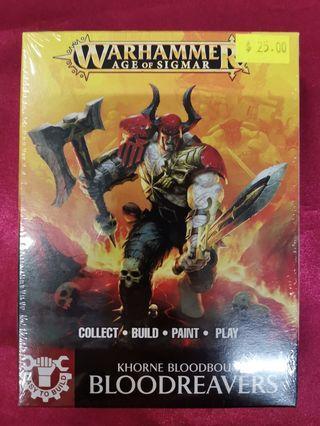 Warhammer Age Of Sigmar Khorne Bloodreavers