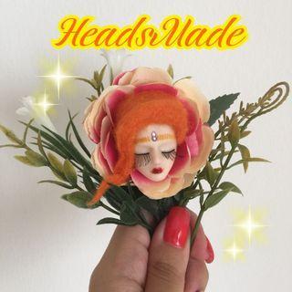 Doll brooch handmade lolita accessories bjd kawaii cute