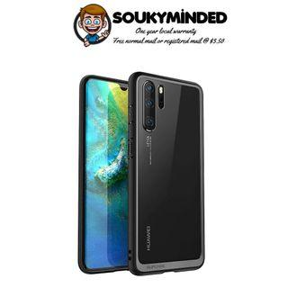 [IN-STOCK] SUPCASE [Unicorn Beetle Style Series] Huawei P30 & P30 Pro Case Premium Hybrid Protective Clear Soft Case for Huawei P30, P30 Pro 2019 Release (Black)