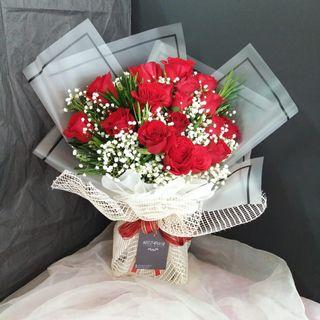🚚 #185 | 19 Roses Bouquet | Birthday | Anniversary