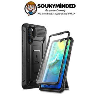 [IN-STOCK] SUPCASE Unicorn Beetle Pro Series Designed for Huawei P30, P30 Pro Case (2019 Release) Full-Body Dual Layer Rugged with Holster & Kickstand (Black)
