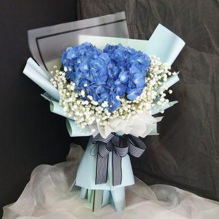 🚚 #184 | Hydrangea Bouquet | Birthday | Anniversary | Convocation Graduation