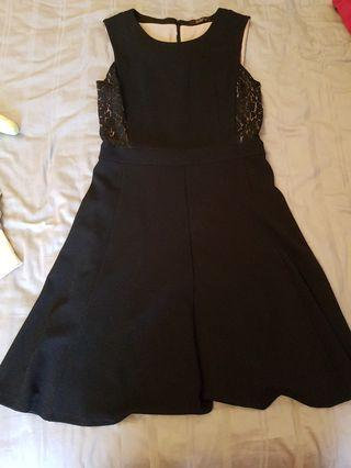 BRAND NEW Black Dress with lace