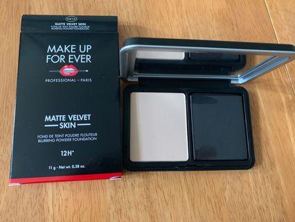 全新正貨 Y215 make up forever matte velvet skin blurring powder foundation 粉盒
