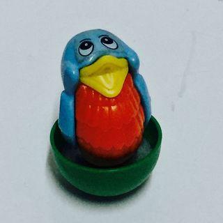 出奇蛋絕版玩具:小鳥不倒翁
