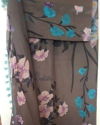 Preloved like new bloomistic voila maxi