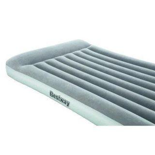 E747 BESTWAY Queen Size Built In Pump Air Mattress (Black)
