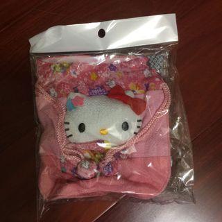 🚚 Hello Kitty 束口袋 三麗鷗正版