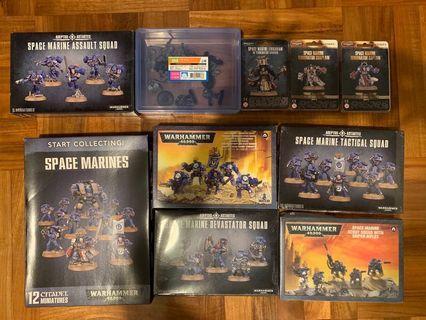 Warhammer 40K Space Marine 戰棋