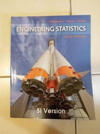 Engineering Statistics 5th Edition SI version, Wiley to let go