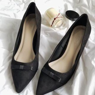 🚚 Sam - 細跟鞋 - 黑 - 現貨