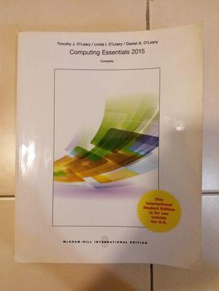 Computing Essentials 2015 International Student Edition, McGraw-Hill Education to let go