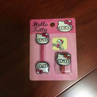 🚚 Hello Kitty 束線帶 眼鏡造型 2入