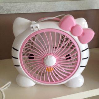 Hello kitty table fan