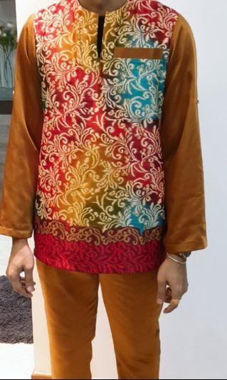 🚚 Baju melayu batik exotic