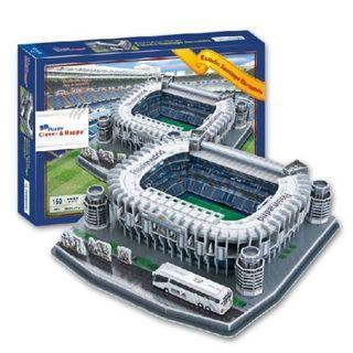 Real Madrid Santiago Bernabeu Stadium - 3D Puzzle