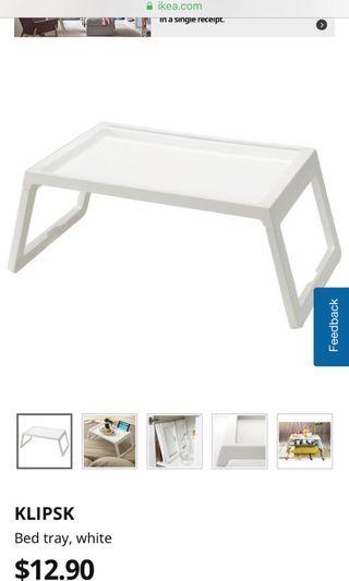 🚚 IKEA bed table