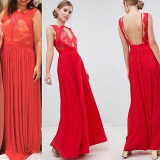 Evening gown from ASOS 結婚