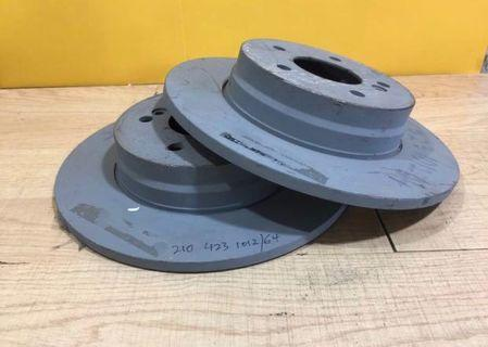 Mercedes Benz rear brake disc
