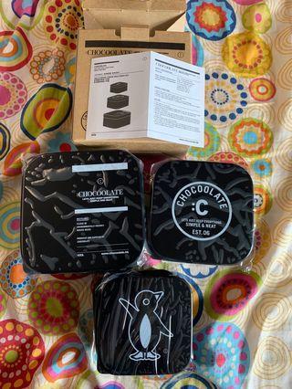 Chocoolate 黑色膠盒 (1set3個)