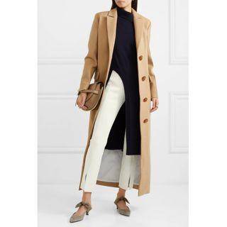The Row Thilde cropped stretch-jersey slim-leg pants (NP)