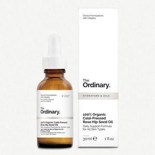The Ordinary 100% Organic Cold-Pressed Rose Hip Seed Oil 有機玫瑰果油