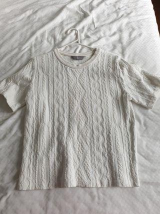 Mulberry white top