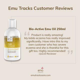 Emu Tracks Bio-Active Oil 250ml