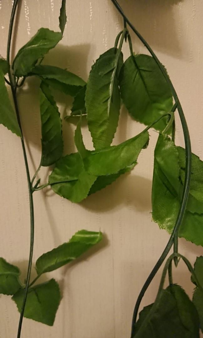 1.5米假草藤 1.5M fake leaves garland