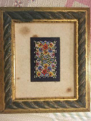 Handmade Mosaic Art from Europe