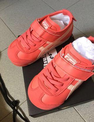 🚚 repost-Onitsuka Tiger(Brand New) Red Pink (New Design)