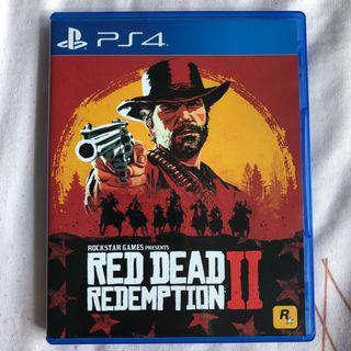 PS4 Red Dead Redemption 2 II