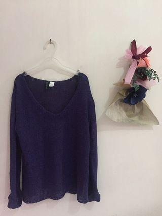 Divided Knit #mauthr
