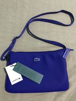 892f90b13e Brand New With Tag Authentic Lacoste Cross Body Bag