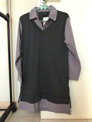 Tunic s tunik / atasa / mini dress