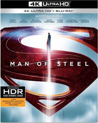 Man of steel 超人4K + Blu-ray (美版英字)