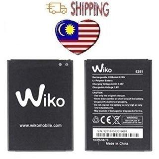 Wiko Tommy 3 K600 PULP 3G 4G 5251  ROBBY JERRY 2 WIKO 5251 2500mAh Battrey
