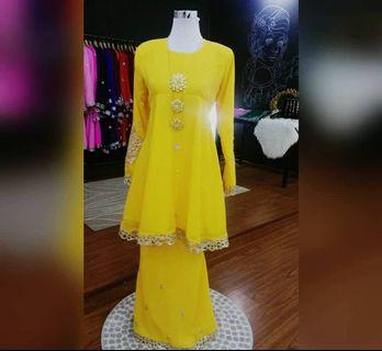 Sareebyzahra New As Is Item in Yellow Size M