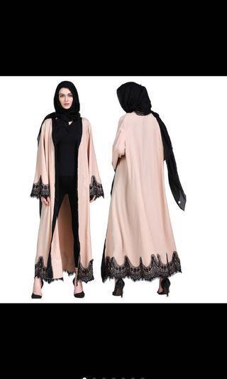 🚚 Abaya in Beige