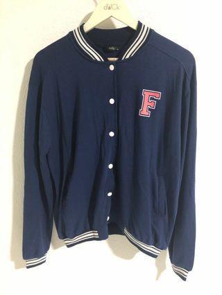 🚚 Flashy Baseball Cardigan