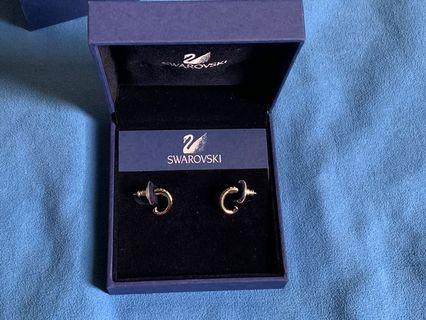 Swarovski 水晶耳環