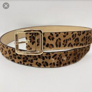 Jessica Simpson Leather Belt