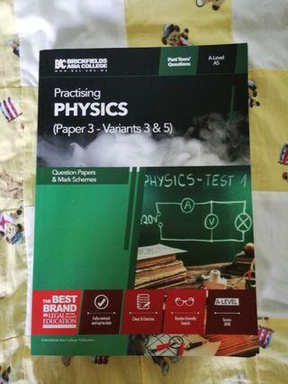 CIE A-LEVEL PHYSICS PAPER 3 PAST YEAR QUESTIONS *MARK SCHEME INCLUDED*