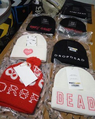 limited stock beanie dropdead